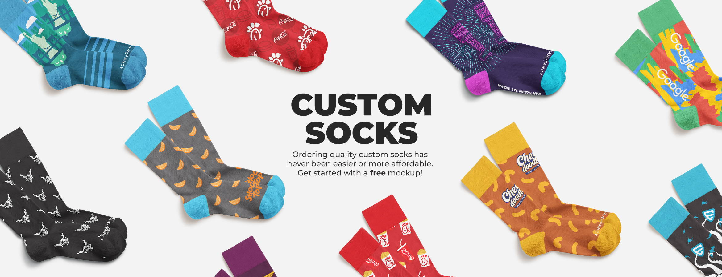 custom socks made to order