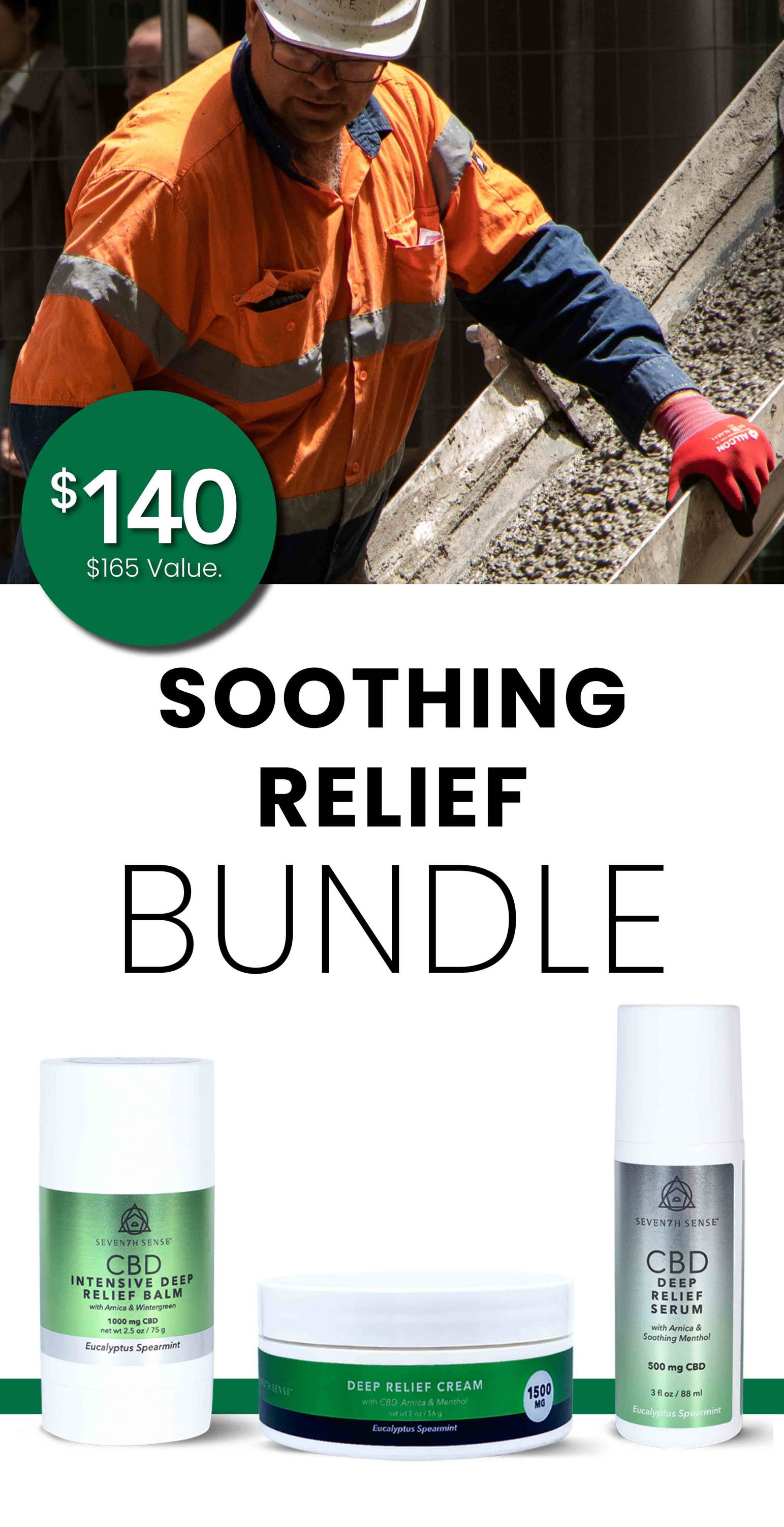 Soothing Relief Bundle $140. $165 Value.