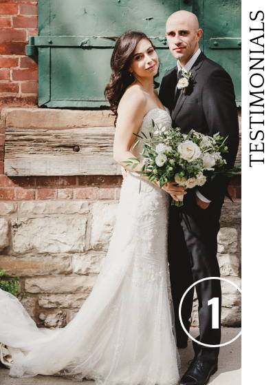Wedding at the distillery district