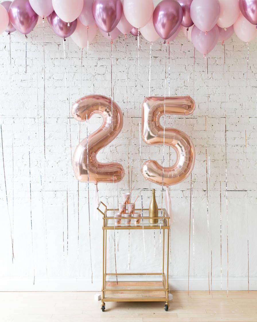 Mauve Birthday Decor