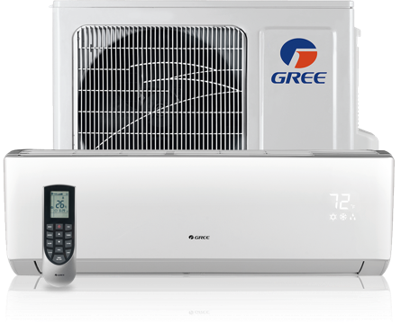 Two Room Gree Ductless Mini Split with Installation – ComfortUp