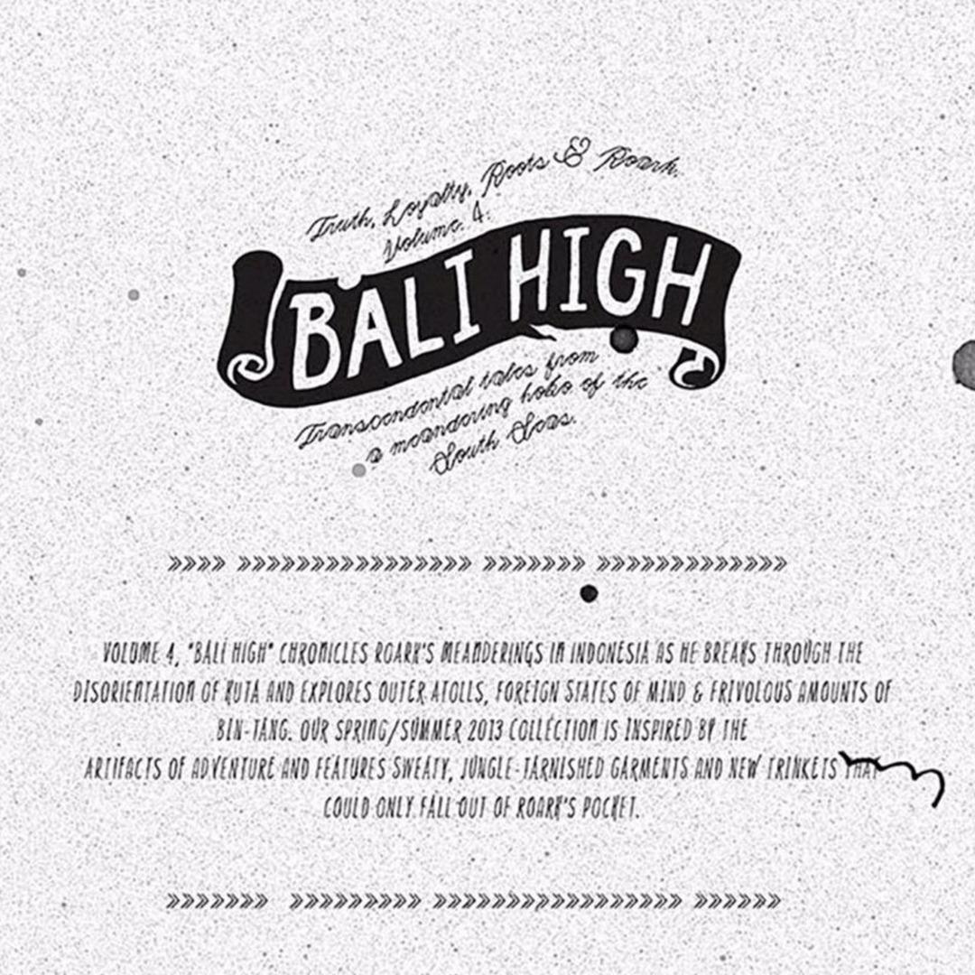 Volume 4: Bali High