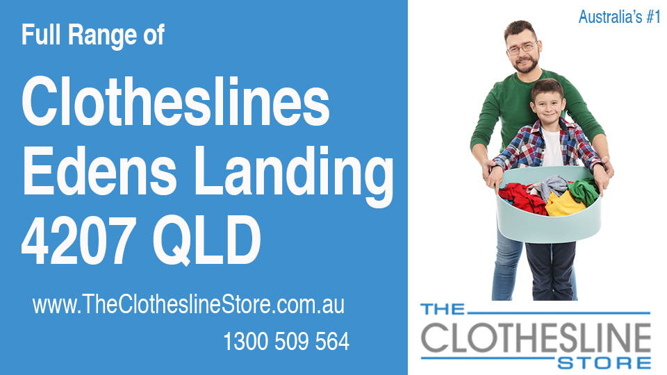 New Clotheslines in Edens Landing Queensland 4207