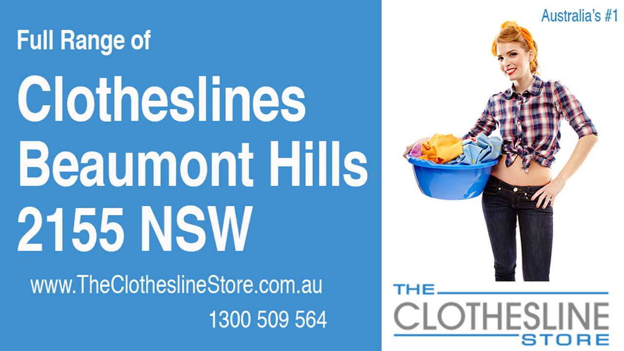 Clotheslines Beaumont Hills 2155 NSW