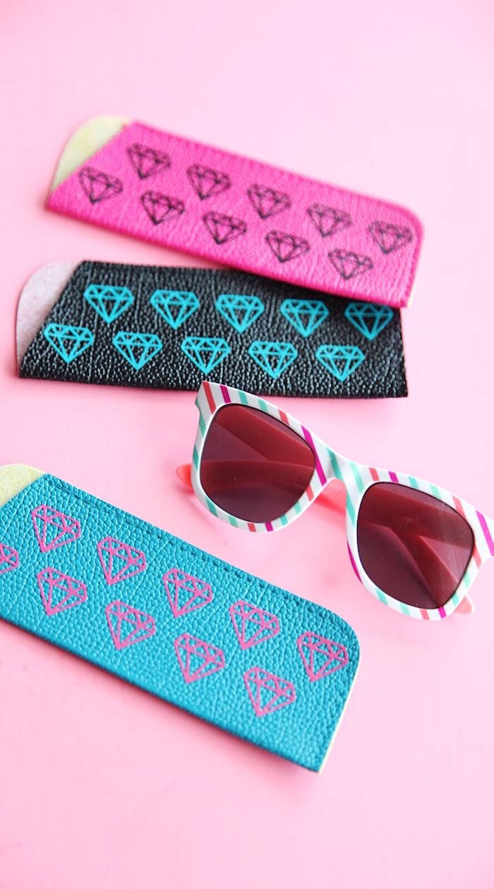 Diy Patterned Cases For Sunglasses How To Apply Heat