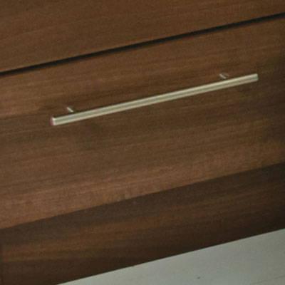 Maple & Walnut Finish Bedroom Furniture