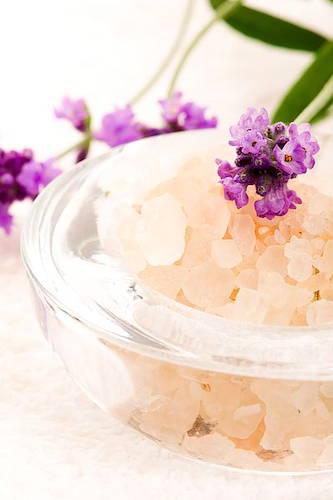 Salt Scrub & Flowers