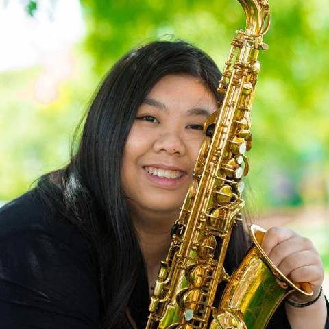 Music teacher and band director Tina Wang recommends Key Leaves saxophone care products to fix sticky key pad leather and keep the sax cleaner and extend pad life.