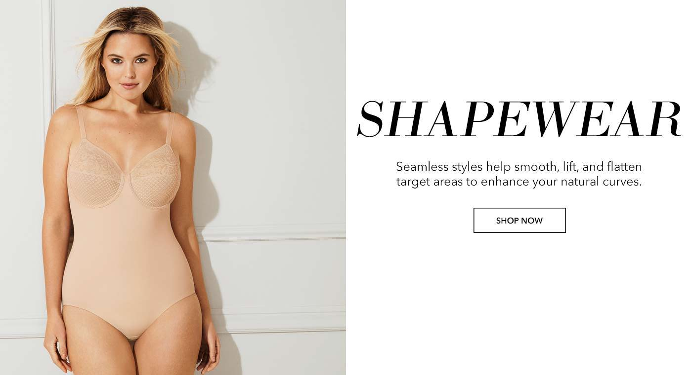 Wacoal Shapewear, Seamless styles help smooth, lift, and flatten target areas to enhance your natural curves.