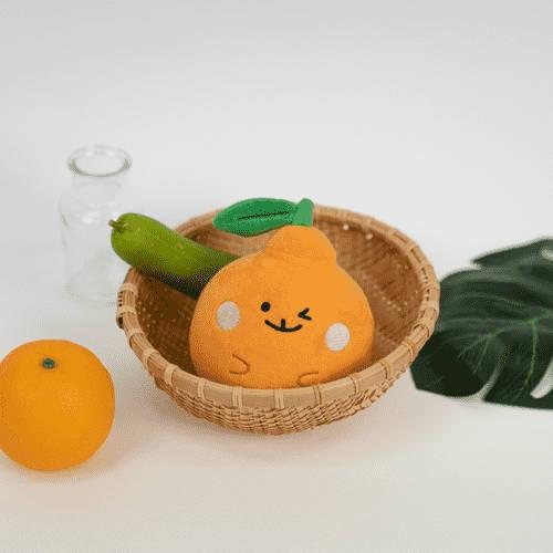 Mr Bong Hallabong Jeju tangerine plush made by seoulbox