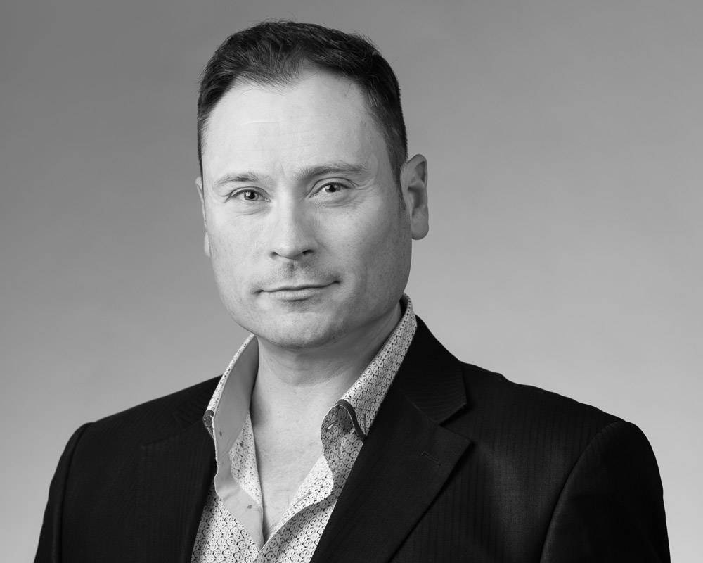 A photo of Nick DeVito, General Manager of Distribution Canada for Divine Flooring