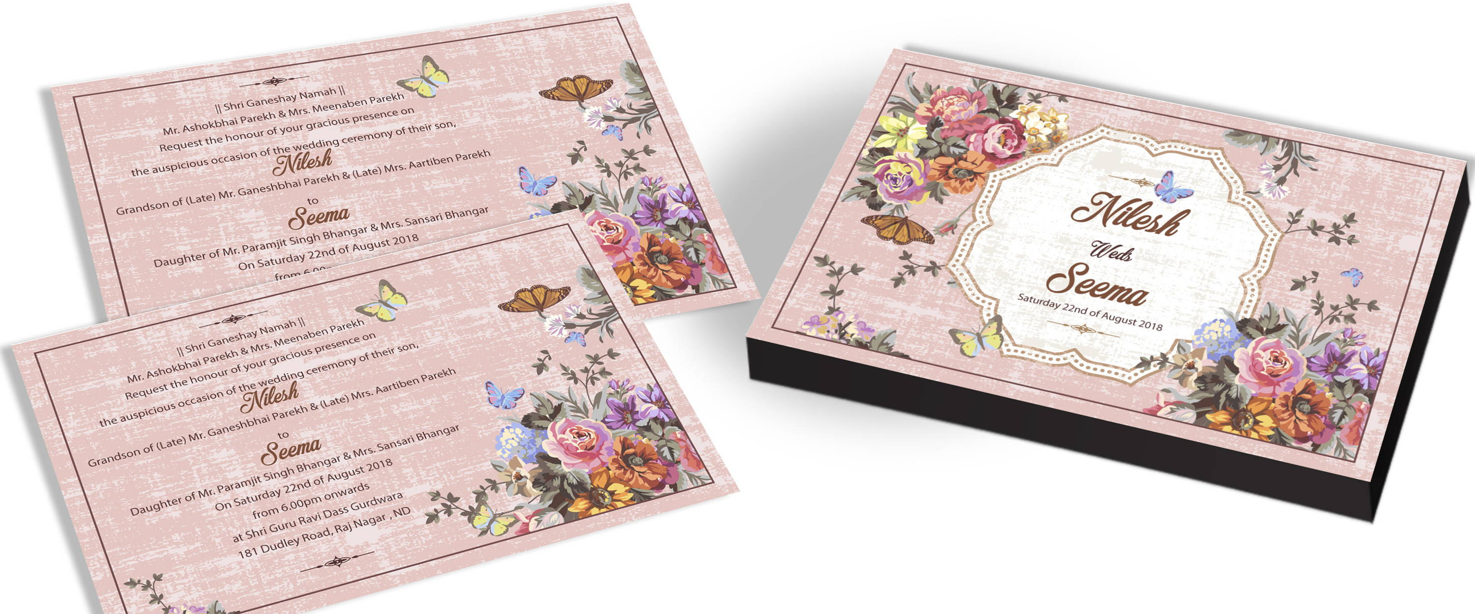 Butterfly Theme Wedding for Indian Marriages