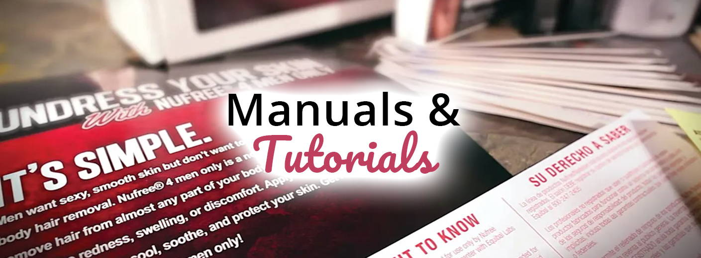 Nufree-Nudesse-Manuals-Tutorials