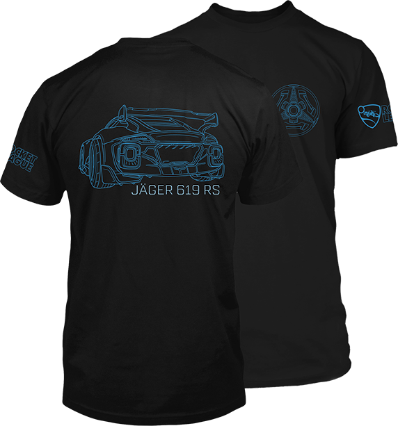 Product image of the Rocket League Jager Club Premium Tee