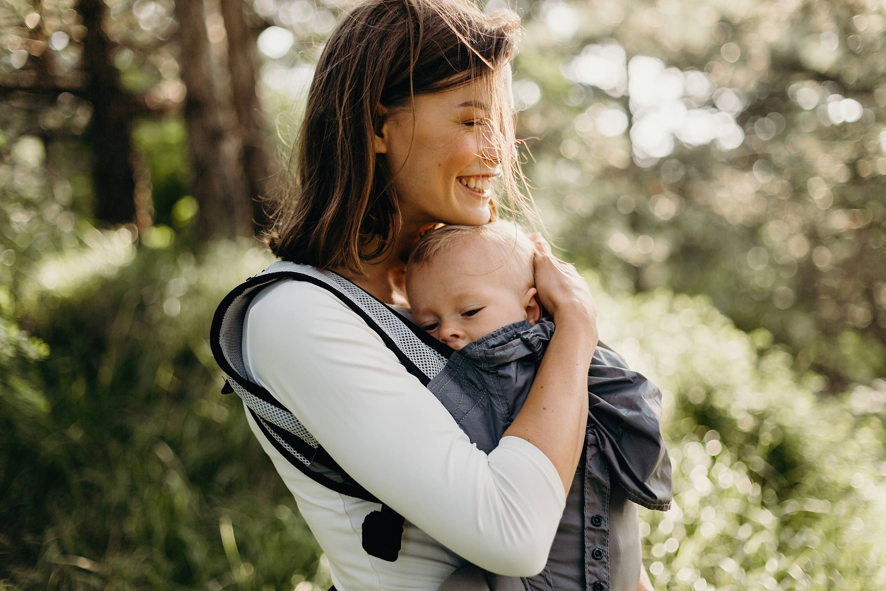 Nine Reasons Not To Carry Your Baby Facing Out Boba