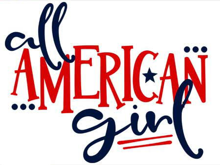 all american girl 4th of july quote