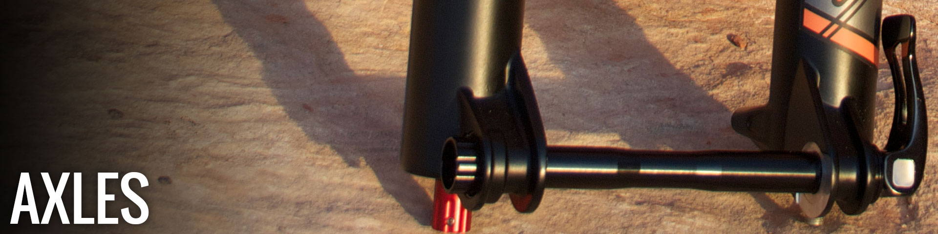 Picture of a MRP quick release axle