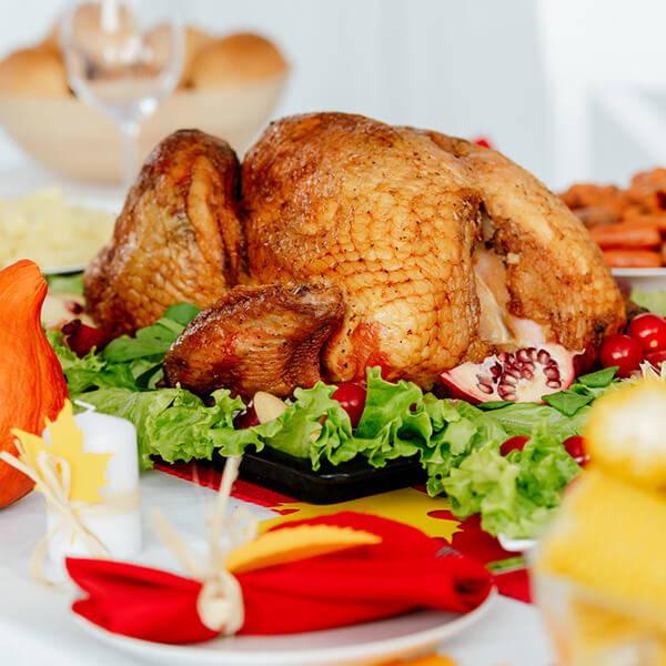 High Quality Organics Express Thanksgiving Turkey centerpiece