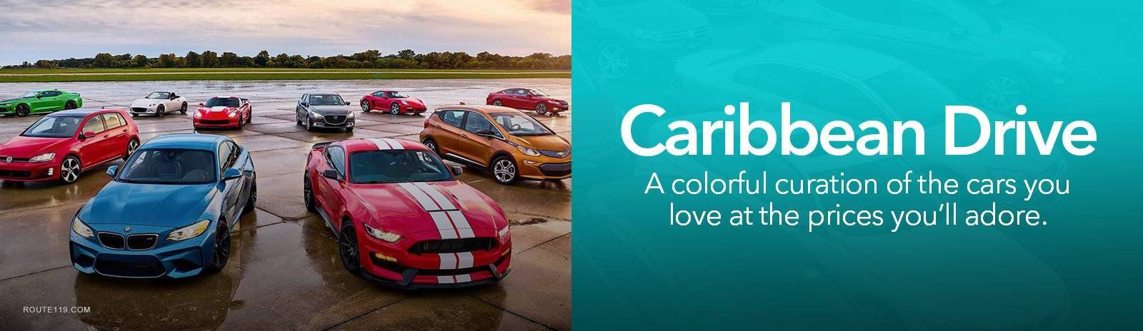 Caribbean Drive - A colorful curation of the cars you love at the prices you'll adore.
