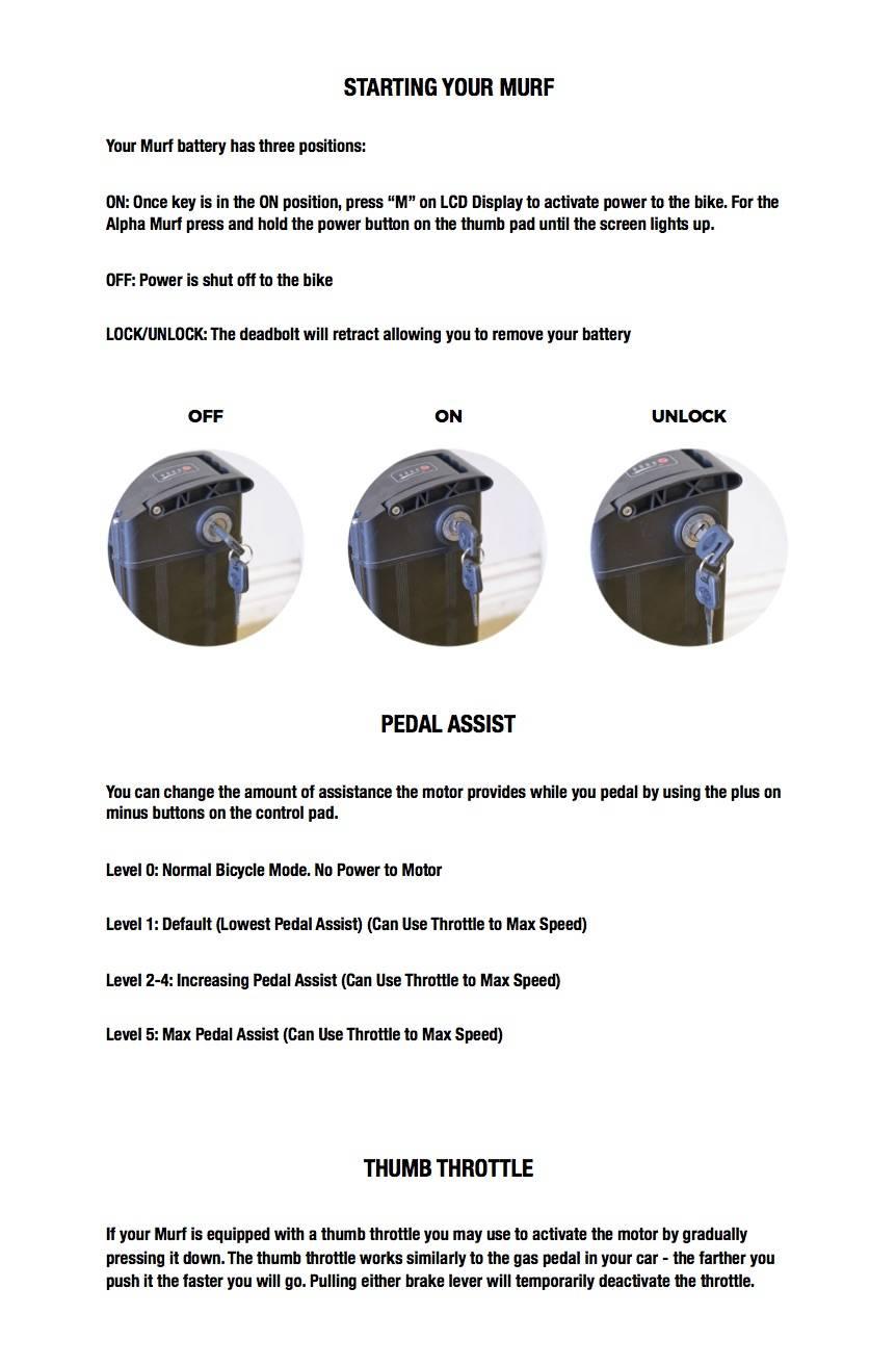 Instructions on How an E-Bike Works   Murf Electric Bikes