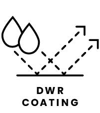 Durable Water Repellent Coating Icon