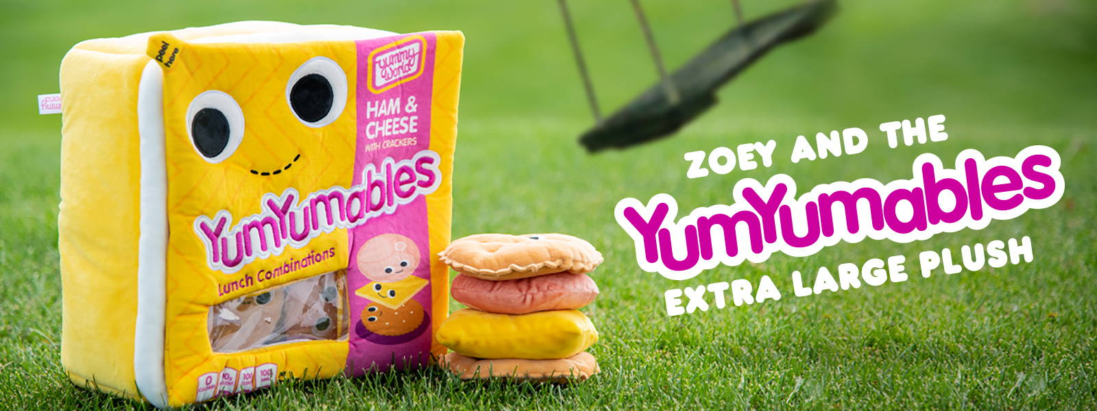 Yummy World YumYumables Lunchable Plush Stuffed Toy