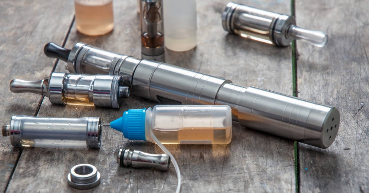 Vaping products like these are facing a strict mailing ban.