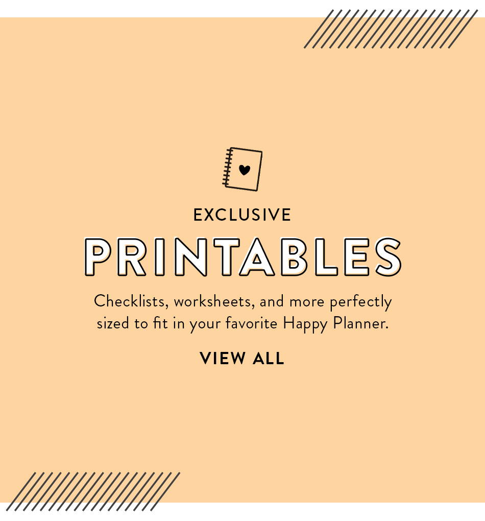Exclusive Printable Downloads