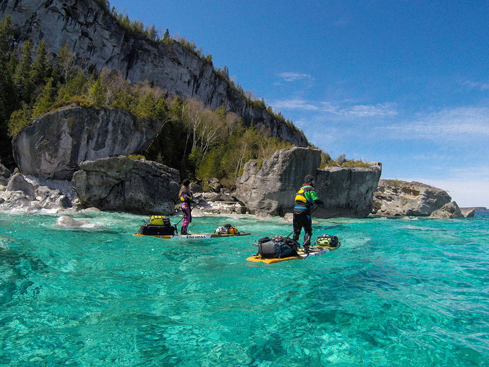 Paddling around Bruce Peninsula