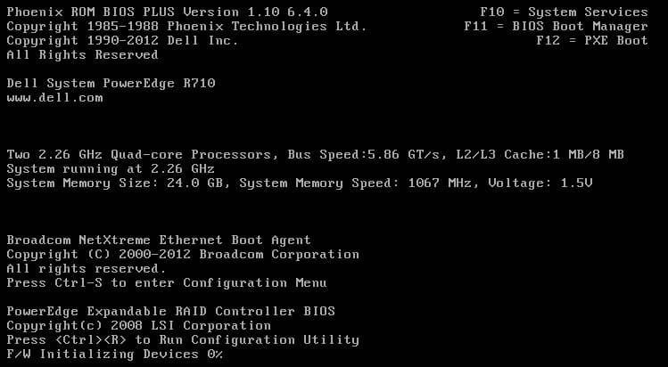 Dell PERC 6i Array Configuration Guide – TechMikeNY