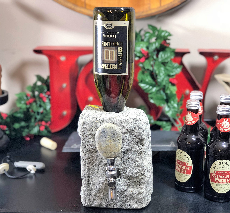 Stone Drink Dispenser for Wine & Spirits