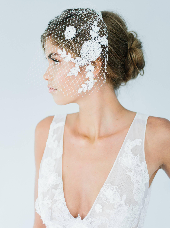 Ampersand Bridal Marseille Birdcage Veil