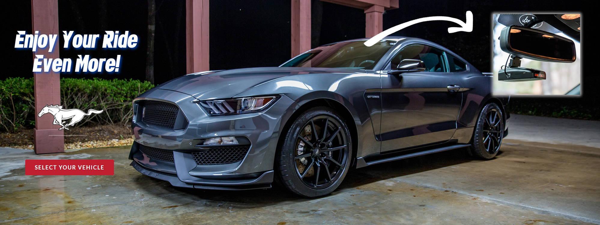 Mustang Radar detector mount