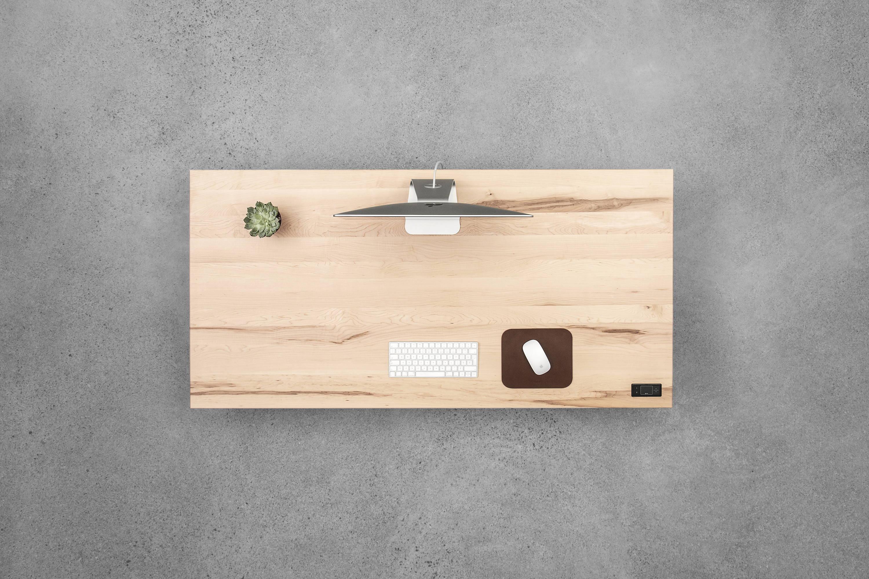 Sway maple - sit-stand desk - ergonofis