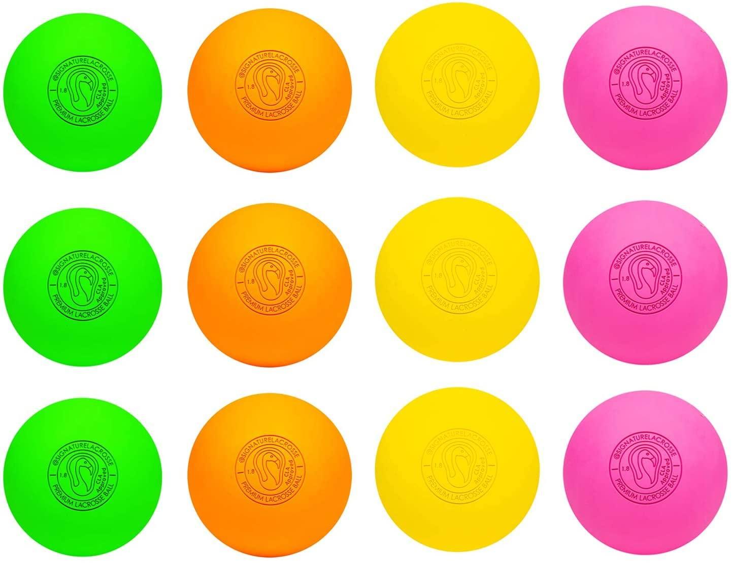 colored lacrosse balls
