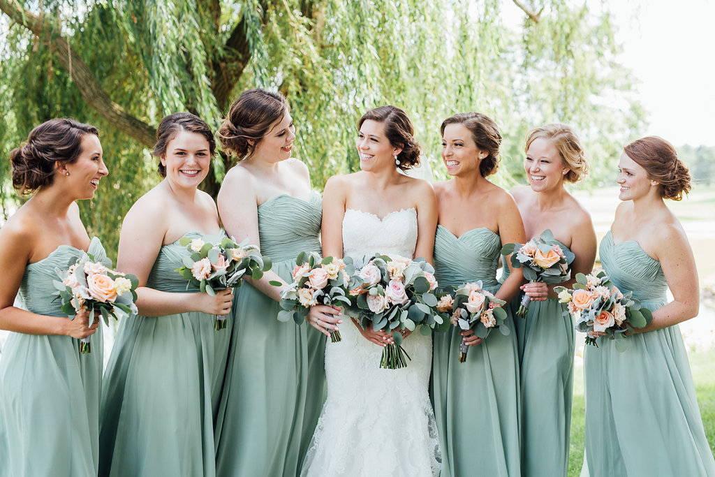 Top Sage Green Bridesmaid Dresses Wedding Shoppe