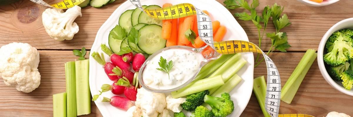 Lebensmittel mit wenig Kalorien