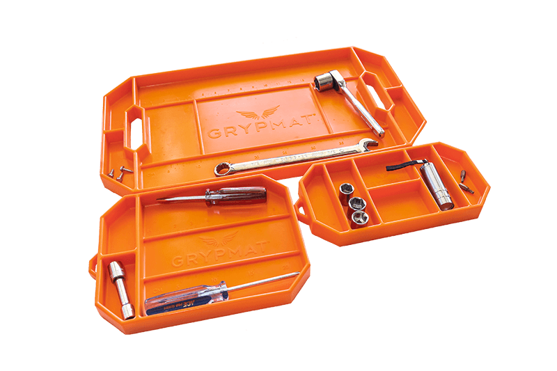 Grypmat orange trio pack with tools