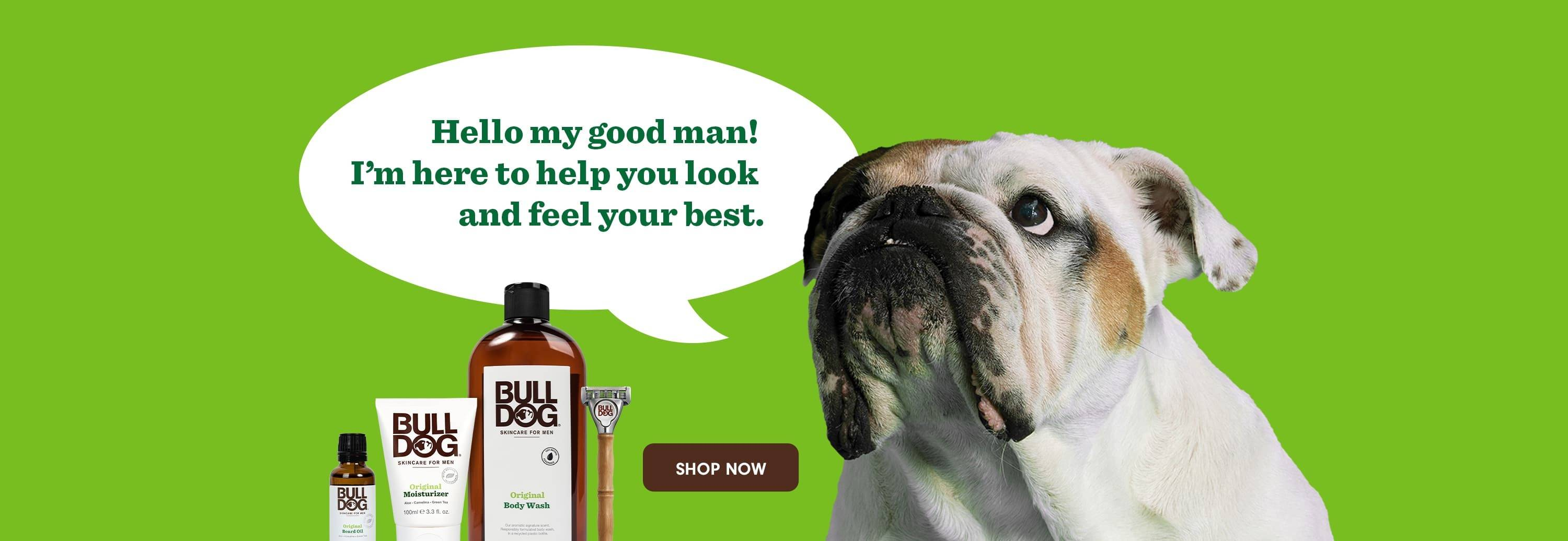 Hello my good man! I'm here to help you look and feel your best. Shop now.