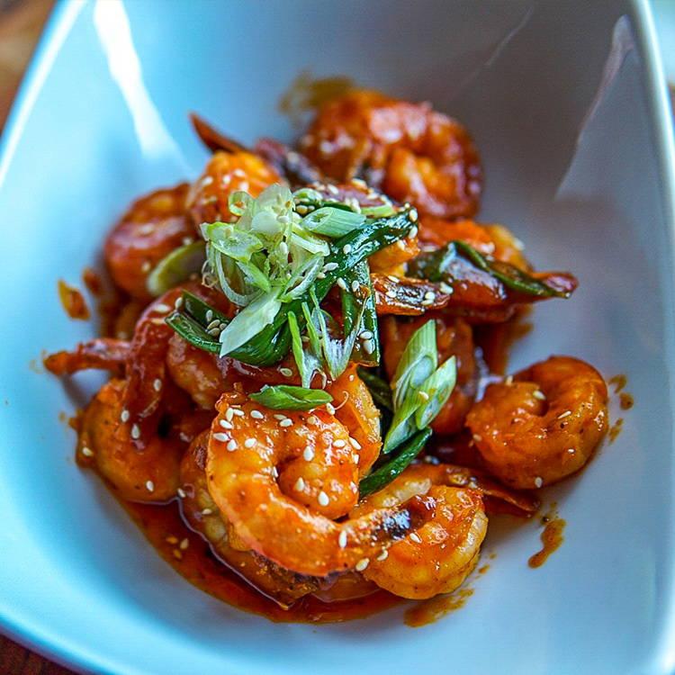 Honey butter shrimp