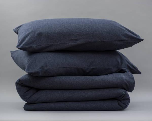 Organic Cotton Jersey Plain Quilt Cover