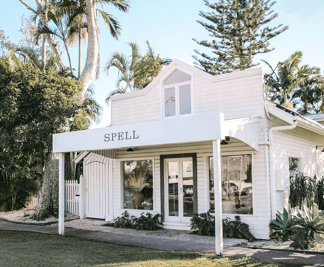 A front image of the Spell Byron Store
