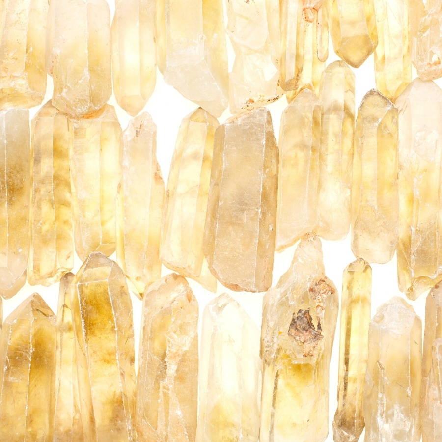 natural citrine crystals