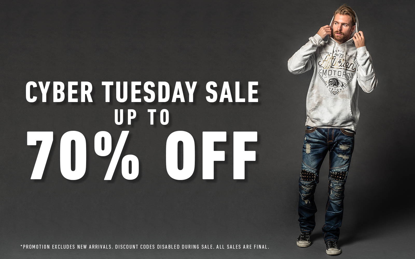 d008bfb38fcb2 Cyber Tuesday Sale - Affliction Clothing