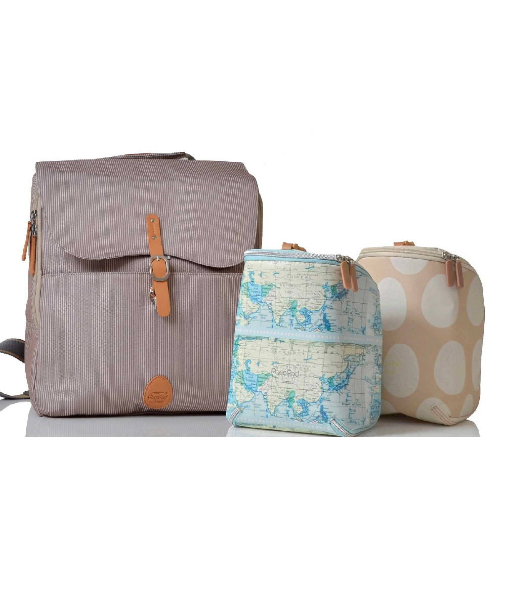 PacaPod Hastings Changing Bag - Driftwood