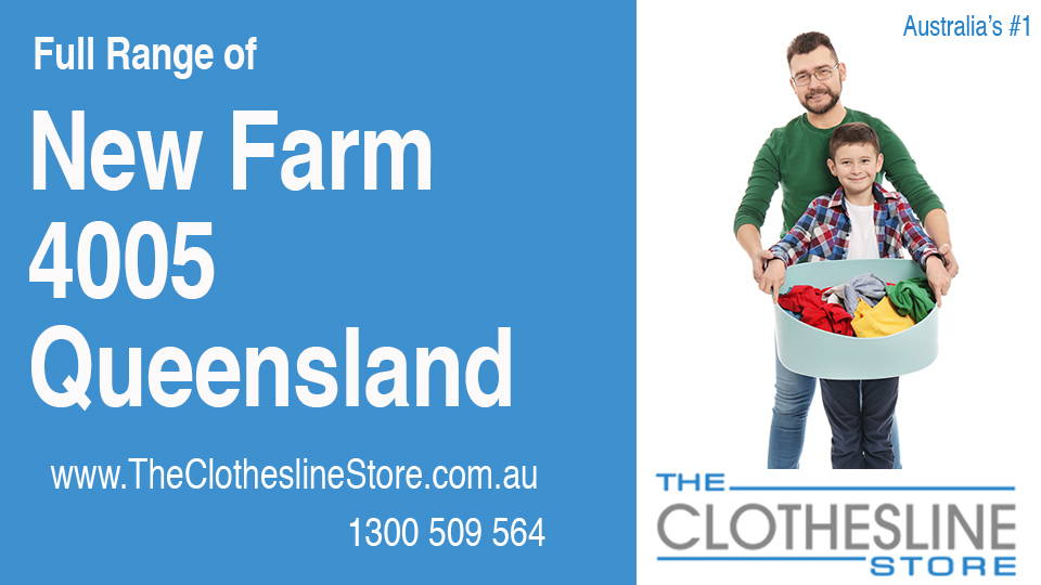 New Clotheslines in New Farm Queensland 4005