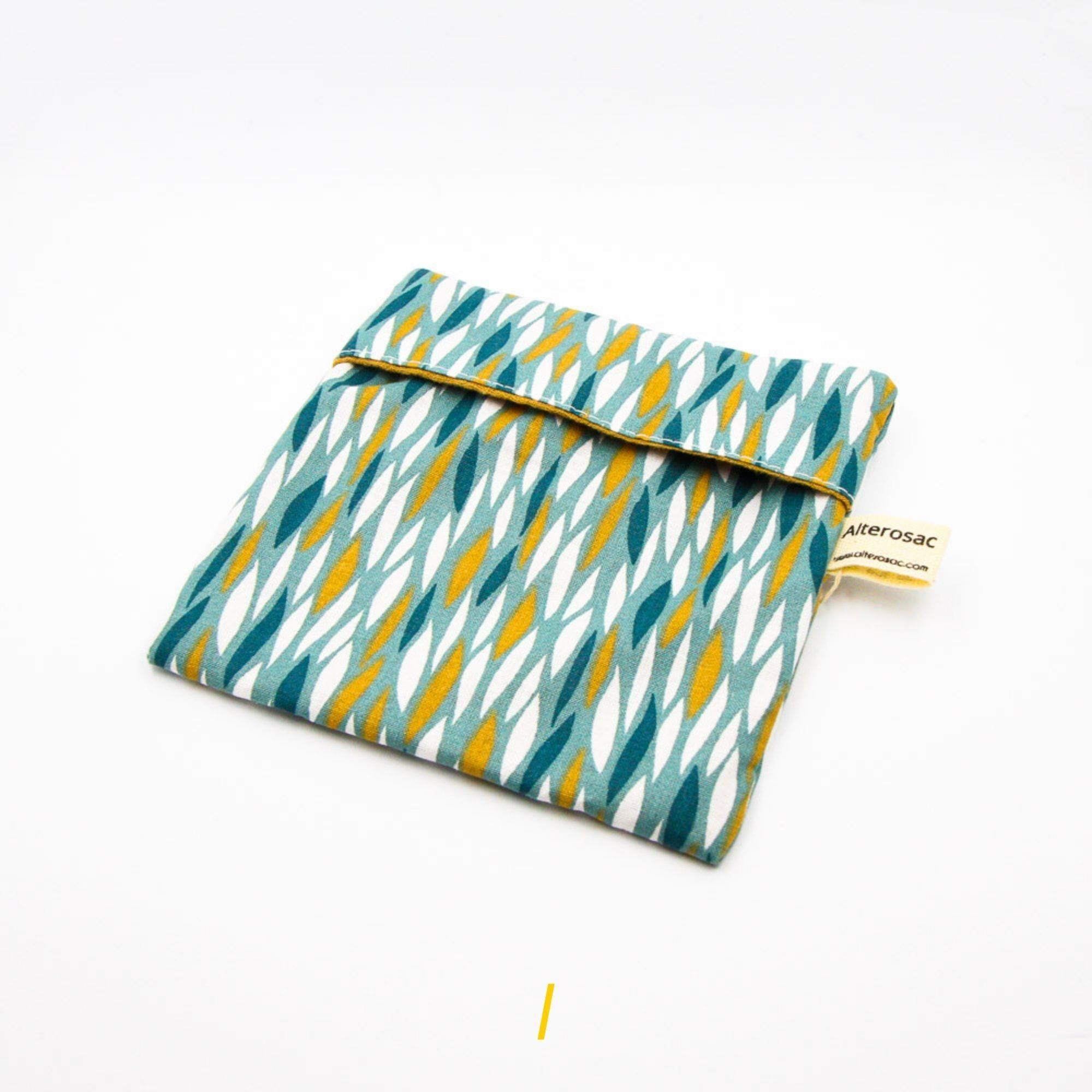 La pochette savon - Bleu pastel