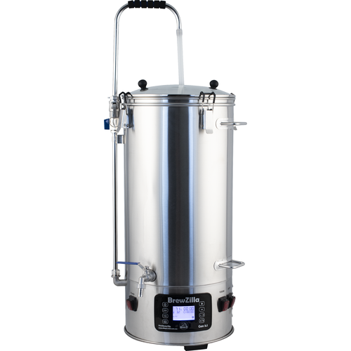 9.25 Gallon / 35L BrewZilla V3.1.1 All Grain Brewing System With Pump (110V) - KL05838  by KegLand