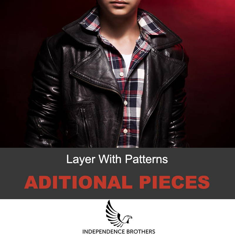 Layering your leather jacket