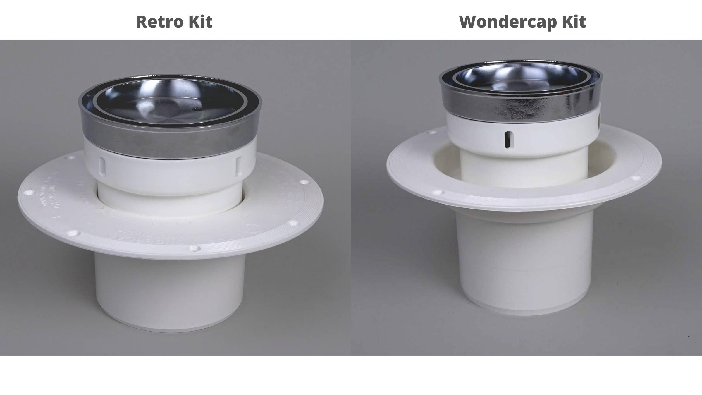 Round Tile-Insert Shower Drain Grate